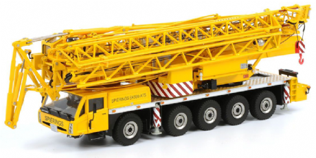 WSI Spierings AT5 SK599 Self Erecting Crane
